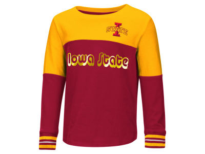 Iowa State Cyclones Colosseum NCAA Toddler Girls Colorblocked Long Sleeve T-Shirt