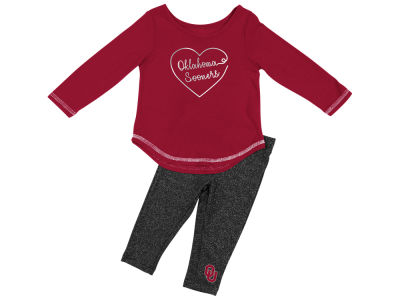 Oklahoma Sooners Colosseum NCAA Infant Girls Legging Set