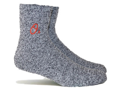 Baltimore Orioles Parkway MLB Parkway Team Fuzzy Socks
