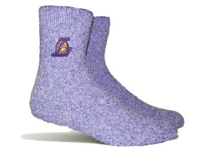 bc3628d2cae Los Angeles Lakers Parkway NBA Women s Team Fuzzy Socks