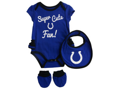 Indianapolis Colts Outerstuff NFL Newborn Girls Trifecta Set