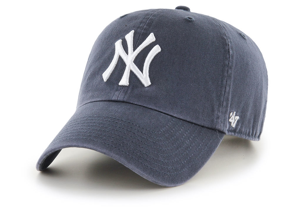 New York Yankees  47 MLB Vintage Navy CLEAN UP Cap  ef942e5a32e