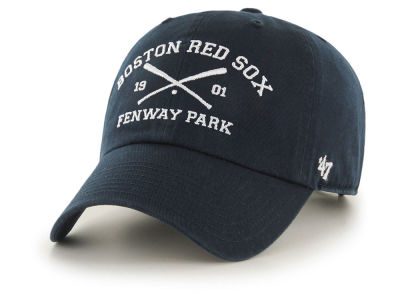Boston Red Sox '47 MLB Crossing Bats CLEAN UP Cap