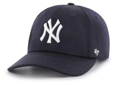 New York Yankees '47 MLB Three Point Mesh CLEAN UP Cap