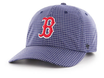 Boston Red Sox '47 MLB Gridstop CLEAN UP Cap