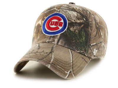 Chicago Cubs '47 MLB Realtree CLEAN UP Cap