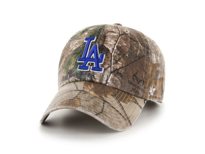 Los Angeles Dodgers '47 MLB Realtree CLEAN UP Cap