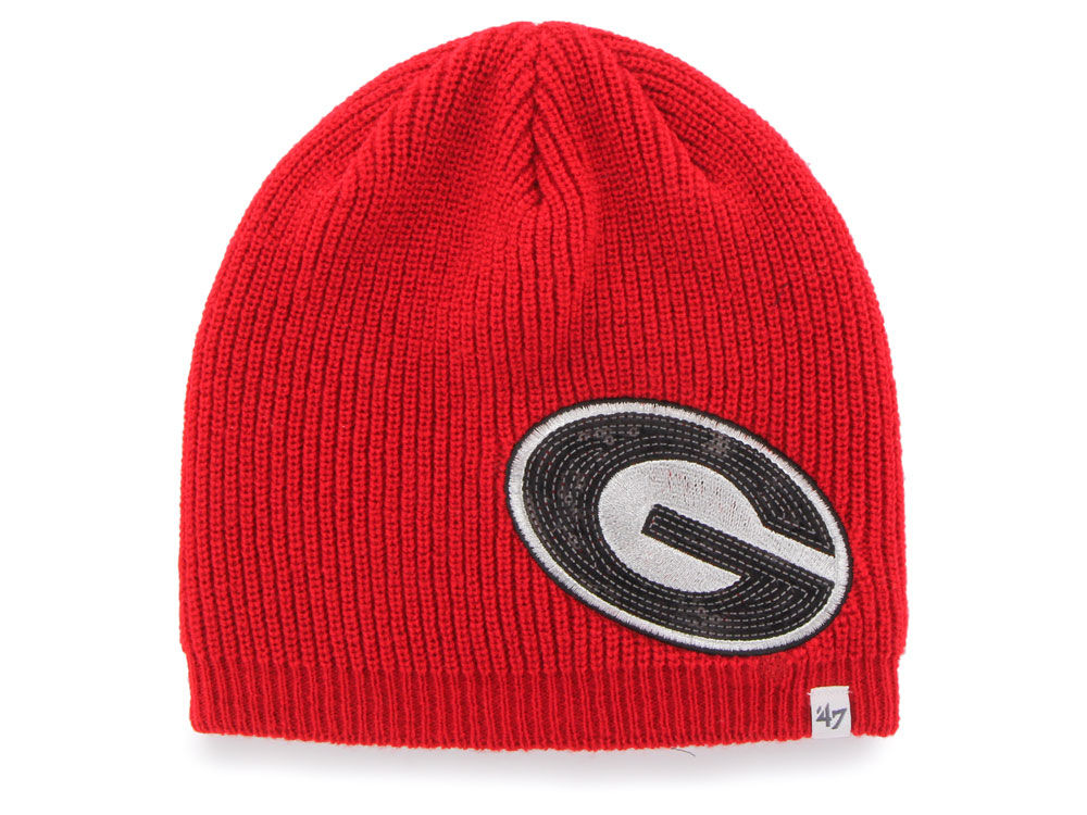 Georgia Bulldogs  47 NCAA Women s Sparkle Beanie Knit  253c47e2063