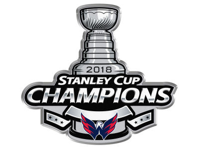 Washington Capitals 2017 Stanley Cup Logo Pin