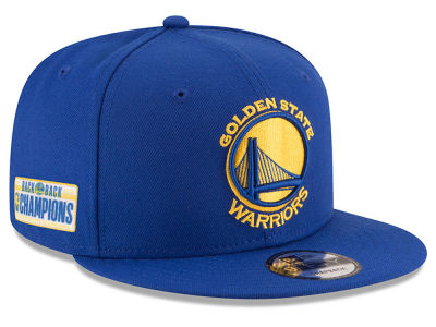 Golden State Warriors New Era 2018 NBA Champ Back 2 Back 9FIFTY Snapback Cap