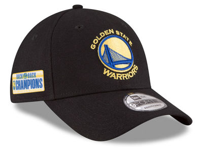 Golden State Warriors New Era 2018 NBA Champ Back 2 Back 9FORTY Cap