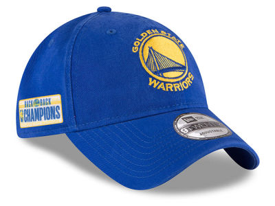 Golden State Warriors New Era 2018 NBA Champ Back 2 Back 9TWENTY Cap