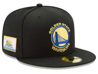Golden State Warriors New Era 2018 NBA 6X Champ 59FIFTY Cap
