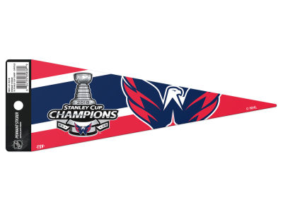 Washington Capitals 2018 NHL Stanley Cup Champ Pennant Sticker