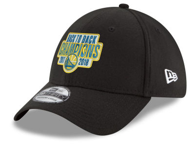 Golden State Warriors New Era 2018 NBA Back to Back Front 39THIRTY Cap