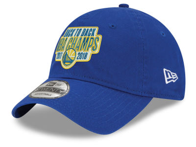 Golden State Warriors New Era 2018 NBA Back to Back Front 9TWENTY Cap