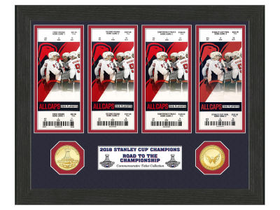 Washington Capitals Highland Mint 2018 NHL Champ Ticket Collection