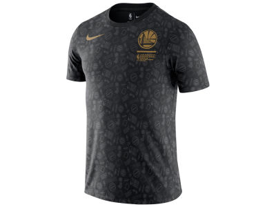 Golden State Warriors Nike 2018 NBA Men's Celebration Finals Champ All Over T-Shirt