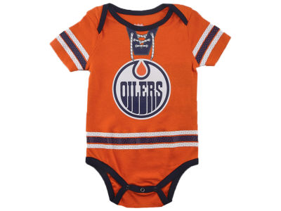d06d28845 Edmonton Oilers Connor McDavid NHL Infant Cherry Picking Player Creeper