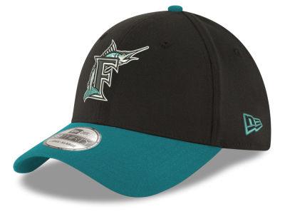 9ad12b8a852 Florida Marlins New Era MLB Core Classic 39THIRTY Cap