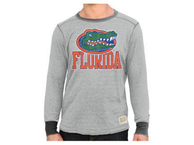 Florida Gators Retro Brand NCAA Men's Tri-blend Fleece Crew Sweatshirt