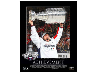 Washington Capitals Alexander Ovechkin Frameworth NHL Motivator Plaque - 16x20