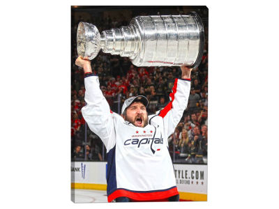 Washington Capitals Alexander Ovechkin Frameworth NHL Player Celebration Canvas - 20x29