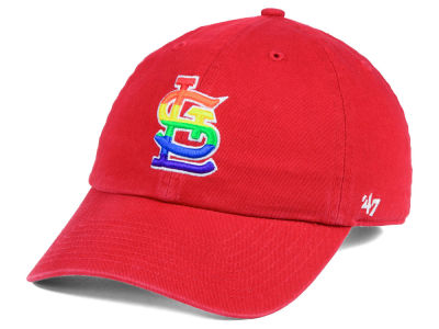 St. Louis Cardinals '47 MLB Pride CLEAN UP Cap