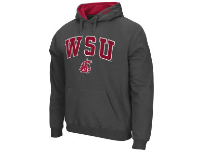 Washington State Cougars Colosseum NCAA Men's Arch Logo Hoodie