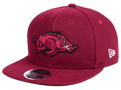 Arkansas Razorbacks New Era NCAA Original Fit 9FIFTY Snapback Cap