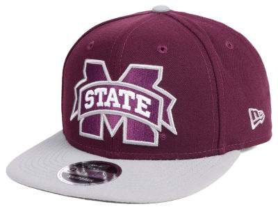 Mississippi State Bulldogs New Era NCAA Original Fit 9FIFTY Snapback Cap