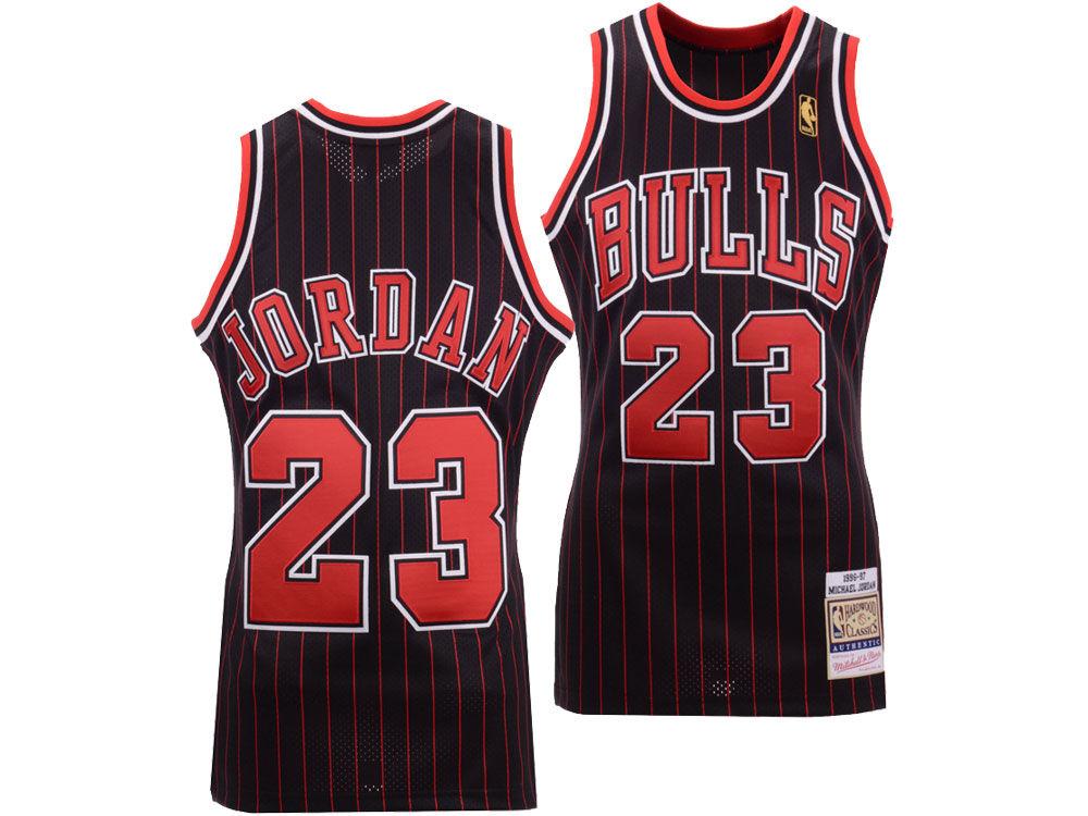 Chicago Bulls Michael Jordan Mitchell   Ness NBA Men s Authentic Jersey. Chicago  Bulls Michael Jordan ... c96704810