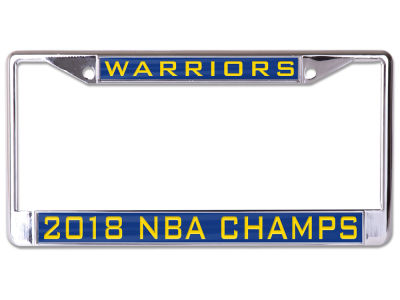 Golden State Warriors NBA License Plates & Frames | lids.com