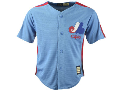 Montreal Expos Majestic MLB Infant Cool Base Blank Replica Jersey