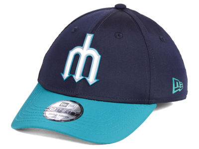 Seattle Mariners New Era MLB Youth Batting Practice Prolight 39THIRTY Cap