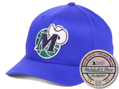 Dallas Mavericks Mitchell & Ness NBA HWC 110 Flexfit Snapback Cap