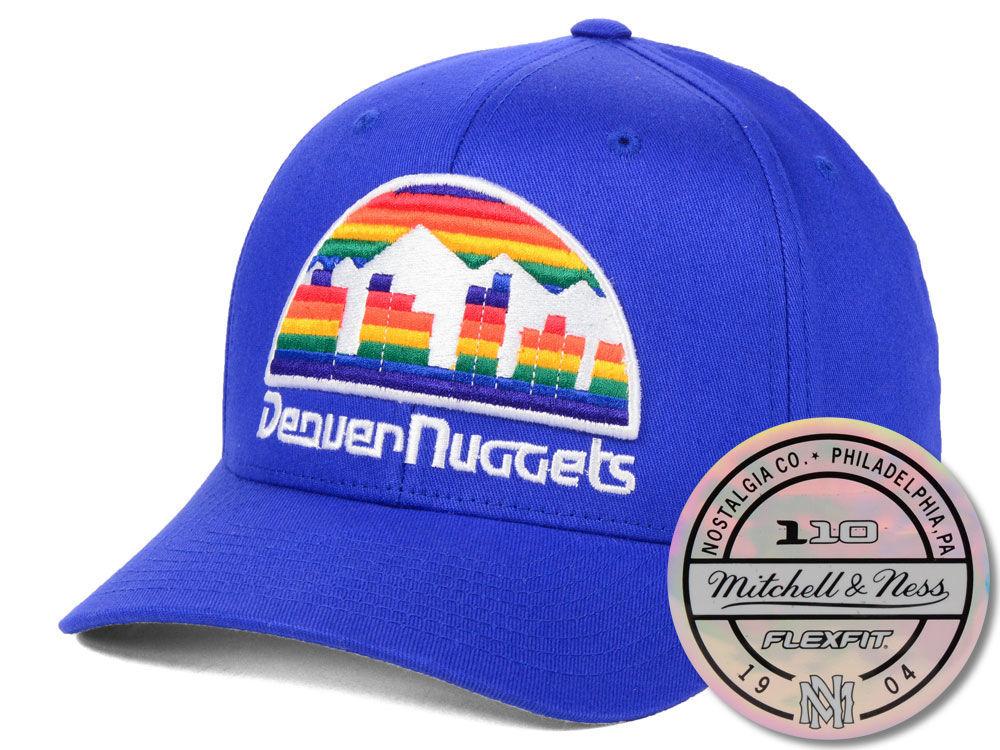 Denver Nuggets Mitchell   Ness NBA HWC 110 Flexfit Snapback Cap ... edb5c1d1c905
