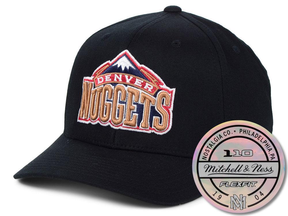 Denver Nuggets Mitchell   Ness NBA HWC 110 Flexfit Snapback Cap ... cda3669fc