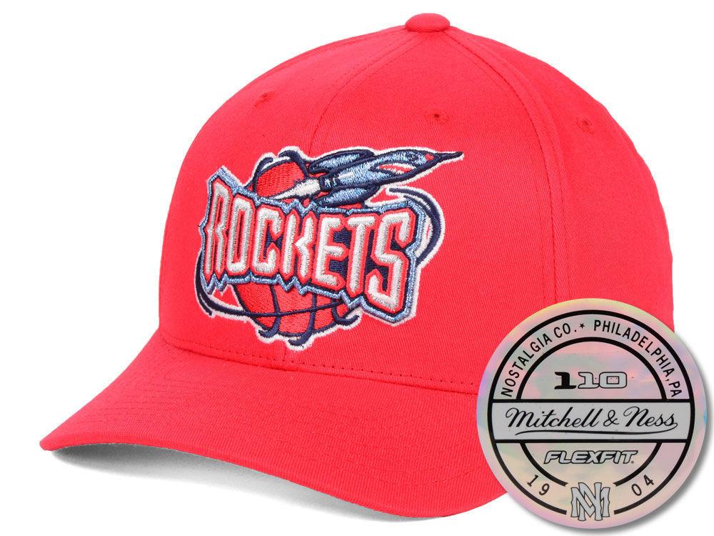 Houston Rockets Mitchell   Ness NBA HWC 110 Flexfit Snapback Cap ... d4a6a1308