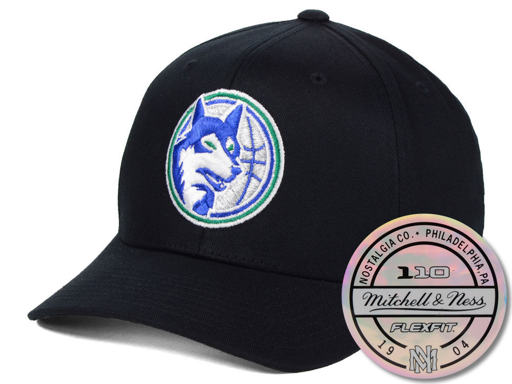 innovative design 6aa88 683db best price minnesota timberwolves mitchell ness nba hwc 110 flexfit snapback  cap lids 164d0 f7546