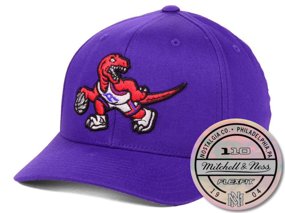 91daacb1712 Toronto Raptors Mitchell   Ness NBA HWC 110 Flexfit Snapback Cap ...