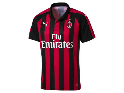 AC Milan Puma Men's Club Team Home Stadium Jersey
