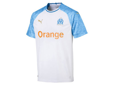 Olympique de Marseille Puma Men's Club Team Home Stadium Jersey