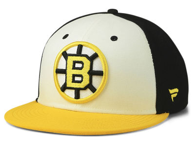9b860b4d575 Boston Bruins NHL Tri-Colour Throwback Snapback Cap