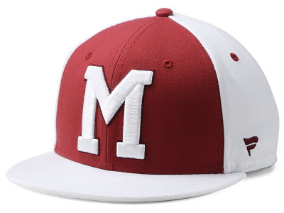 Montreal Maroons NHL Tri-Colour Throwback Snapback Cap