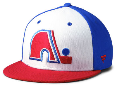 Quebec Nordiques NHL Tri-Colour Throwback Snapback Cap aafad2fc7