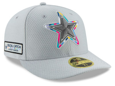 0280c405179 Dallas Cowboys New Era 2018 NFL Crucial Catch Low Profile 59FIFTY Cap