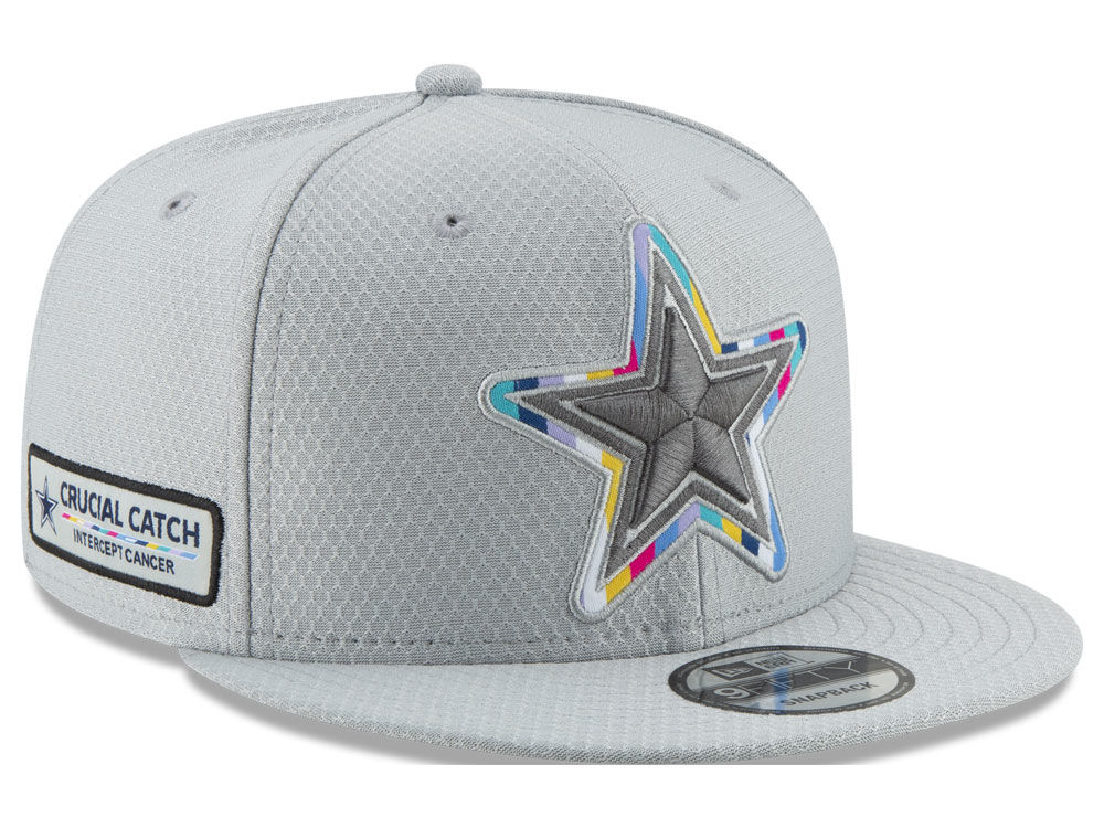 112ba19376c Dallas Cowboys New Era 2018 NFL Crucial Catch 9FIFTY Snapback Cap ...