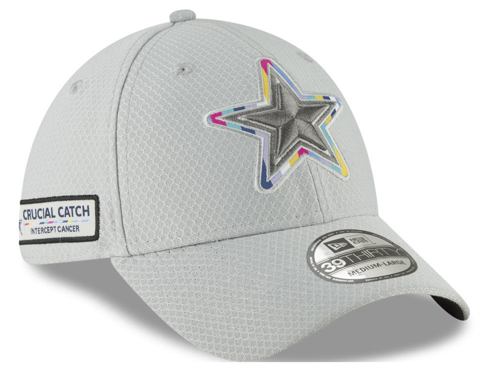 c46c3c8d42b Dallas Cowboys New Era 2018 Nfl Crucial Catch 39thirty Cap Lids