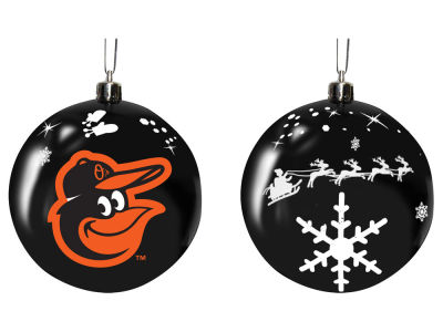 "Baltimore Orioles Memory Company 3"" Sled Glass Ball Ornament"
